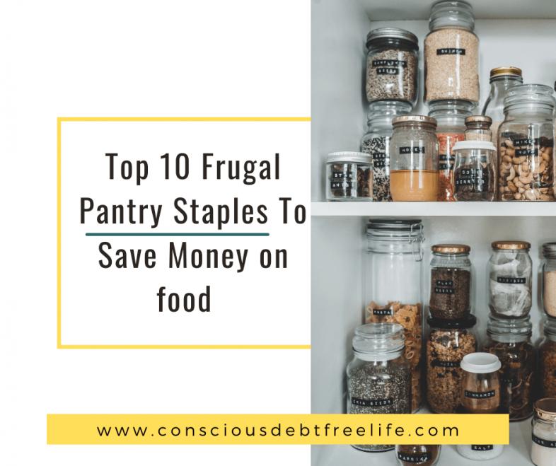 Foot pantry staples
