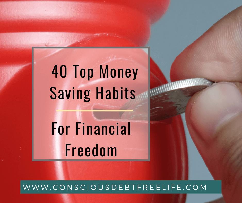 Money aving Habits