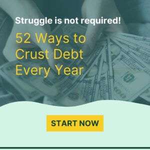 52 Ways to Get out of Debt