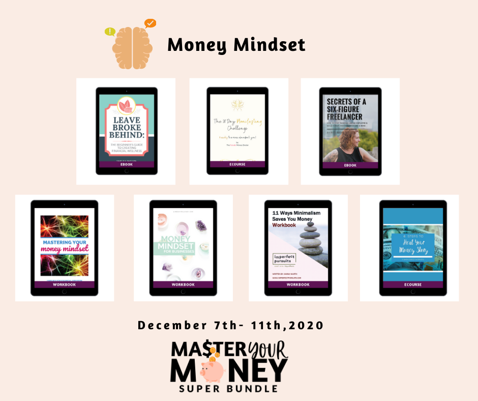 money mindset related courses and ebooks