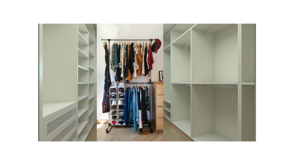 seasonal clothing de-clutter