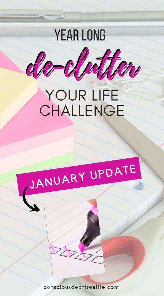 January De-clutter Challenge Update 2