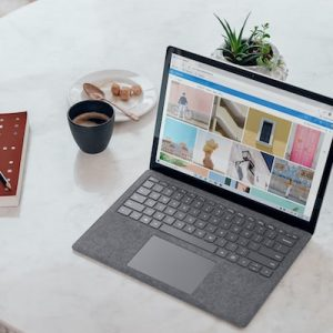 Writing laptop