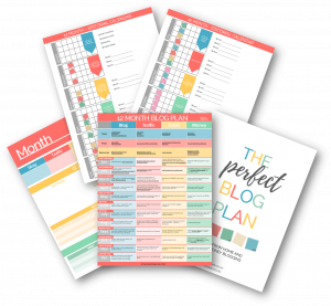 12 month free blog plan