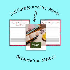 self care journal for winter