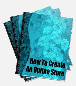 cretae an online store