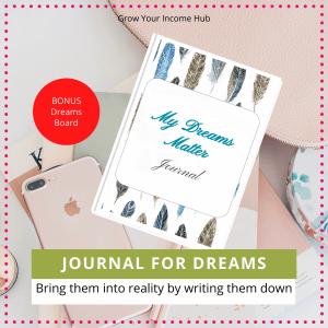 My Dreams Matter Journal