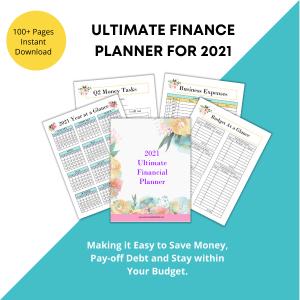 Ultimate Financial Planner Printable
