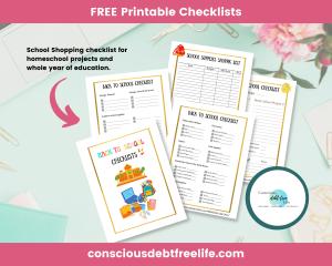 FREE checklists